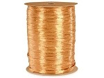 Gold Pearlized Wraphia, 100 yards