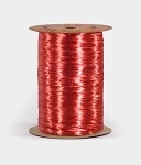 Red Pearlized Wraphia, 100 yards