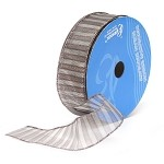 Silver Formula 5 Wired Ribbon, 1-1/2