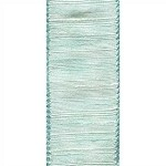 Aubrey Wired Ribbon, Seafoam, 2.5 inch x 10 yards