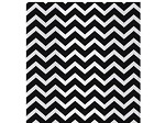 Chevron-Black Cellophane Printed Bags, 100 bags