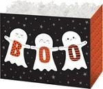 Halloween Boo Basket Boxes (Large, 10-1/4