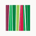 Holiday Stripes Gift Wrap, 24