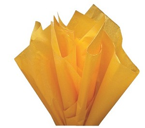 "Noble Gold Tissue Paper (20"" x 30"" per sheet)"