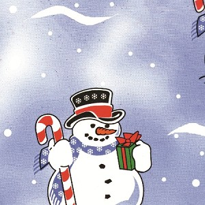 "Jolly Snowman Printed Tissue Paper (20"" x 30"" sheets)"