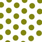 Large Dots Gold Printed Tissue Paper (20