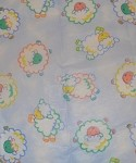 Fluffy Lambs Printed Tissue Paper (20