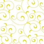 Ivy Swirl-Gold Printed Tissue Paper (20