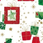 Modern Christmas Printed Tissue Paper (20