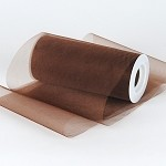 Chocolate Organza Tulle (5-3/4