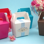 Gabled Paper Tote Boxes