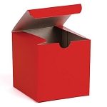 Red with Shadow Stripes Giftware Boxes