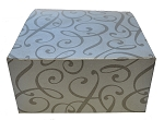 Silver Swirl Giftware Boxes