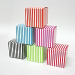 Striped Favor Box