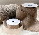 **Eco-Friendly** Burlap Ribbon