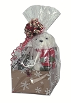 Cello Basket Bags - Christmas Prints