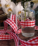 Gingham Checked Ribbon