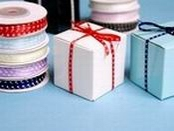 Polka Dot Satin Ribbon