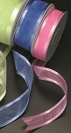 Wired Organza Satin Edge Ribbon