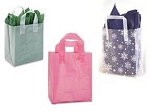 Frosted Shopper Bags