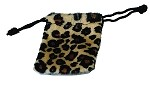 Cheetah Flannel Safari Bags (2