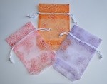 Spring Flower Pouches (3-1/2