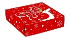 Dashing Reindeer Autolock Gift Boxes, 6 boxes
