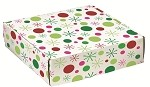 Holiday Dot Autolock Gift Boxes, 6 boxes