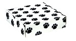 Paw Prints Autolock Gift Boxes, 12in x 9in x 3in, 2 boxes