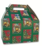 **CLOSEOUT** Beary Christmas Gable Box - Large (9