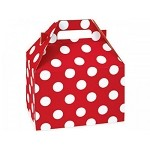 Cheery Dots Gable Box - Medium (8