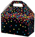 Colorful Confetti Gable Box  (8-1/2