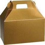 Gold Gloss Gable Box  (8-1/2