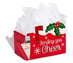Sending You Cheer Intricut Basket Box (Large, 12