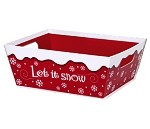 Let it Snow Market Tray, Large (12