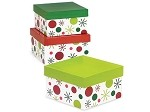 Ho Ho Dot Nested Boxes