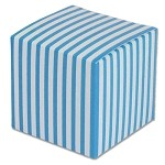 Blue Striped Paper Mini Box (2