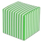Green Striped Paper Mini Box (2