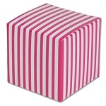 Hot Pink Striped Paper Mini Box (2