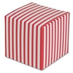 Red Striped Paper Mini Box (2