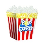 Popcorn Sweet Treat Containers, 4