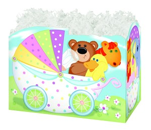 "Baby Buggy Basket Boxes (Large, 10.25"" x 6"" x 7.5"")"