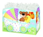 Baby Buggy Basket Boxes (Large, 10.25