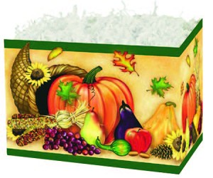 "Cornucopia Basket Boxes (Large, 10.25"" x 6"" x 7.5"")"