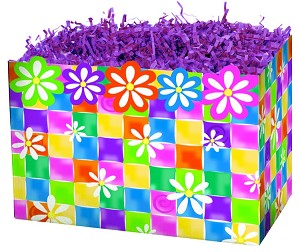 "Daisy Chain Basket Boxes (Large, 10.25"" x 6"" x 7.5"")"