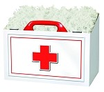 First Aid Basket Boxes (Large, 10.25