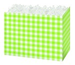 Green Apple Gingham Basket Boxes (Small, 7