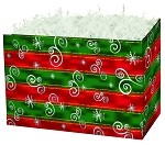 Holiday Spirit Basket Boxes (Large, 10.25