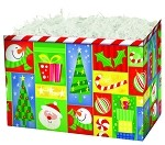 Holiday Squares Basket Boxes (Small, 7