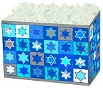 Jewish Stars Basket Boxes (Large, 10.25